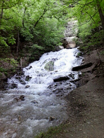 Did you know that Iowa has a waterfall?!