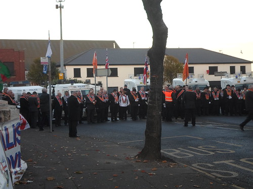 The Orangemen Marching In