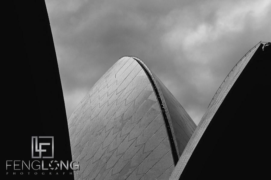 Sydney Opera House & Clouds