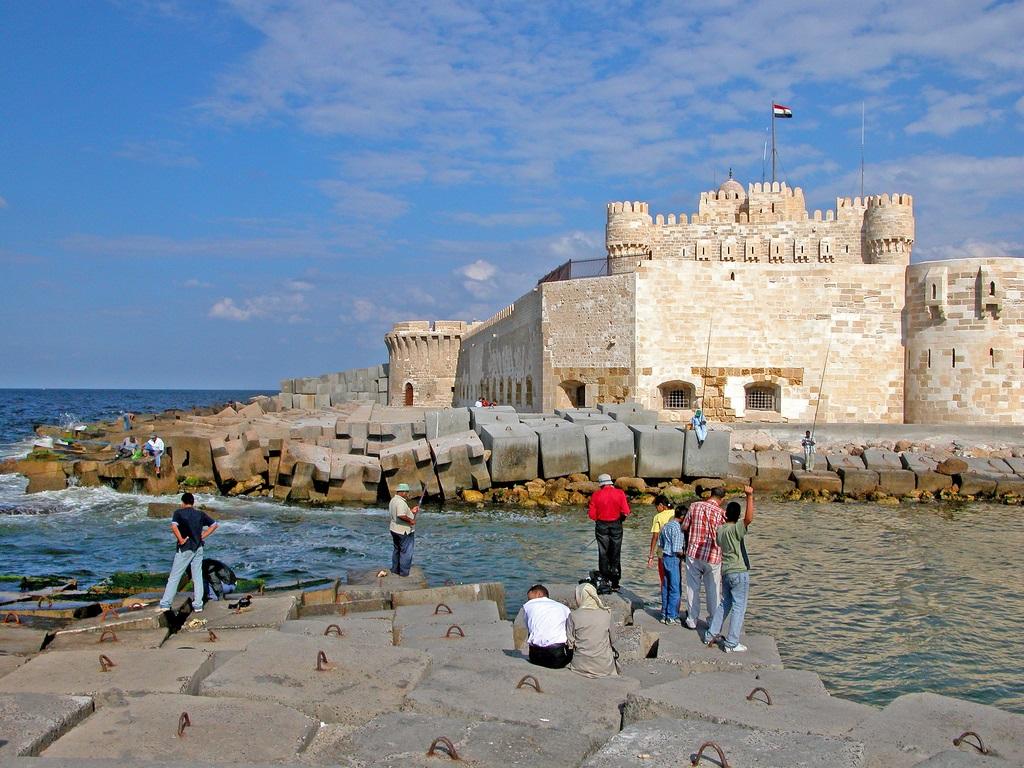 6. Ciudadela de Qaitbay, en Alejandría. Autor, Archer10