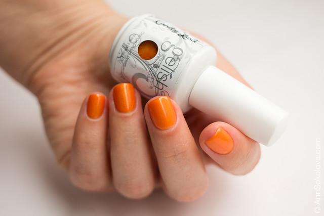 03 Gelish 01531 Orange Cream Dream Ann Sokolova swatches