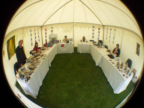 HVAF Potters at Living Crafts 2013 by phatcontroller