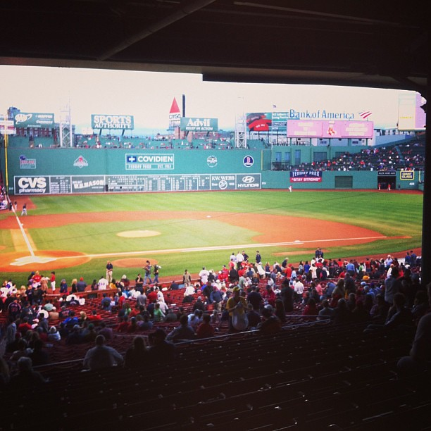 Fenway Park #boston #redsox #baseball #stadium
