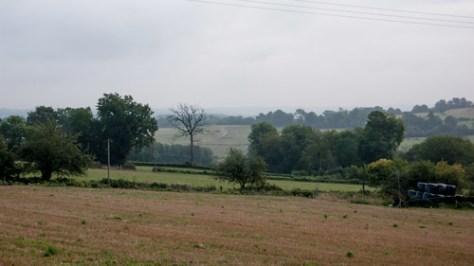 Landscape in France