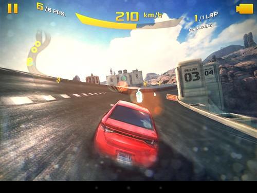 เกม Asphalt 8: Airborne แบบ High quality บน mondo Motion 9701D
