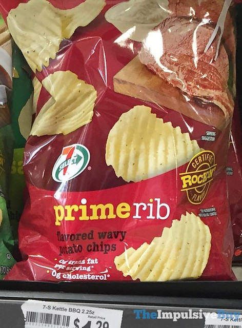 7-Select Prime Rib Wavy Potato Chips