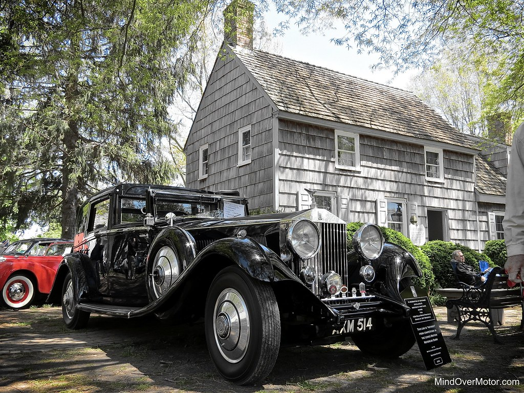 1934 Rolls Royce Phantom II at the Lewes British Motorcar Show