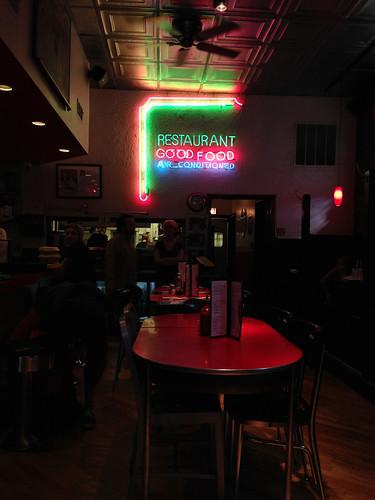 chicago diner neon