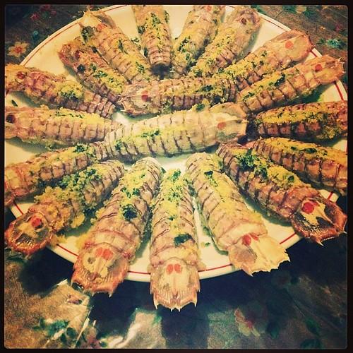 La presentazione fa molto #food #cibo #canocchie #vitainfamiglia