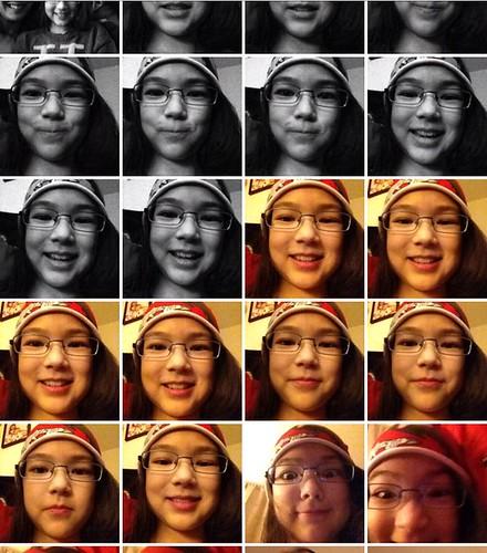 iphone self-shots