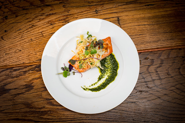 Poached Salmon & Guide to Spectacular and Professional Plate Presentation Course on ...