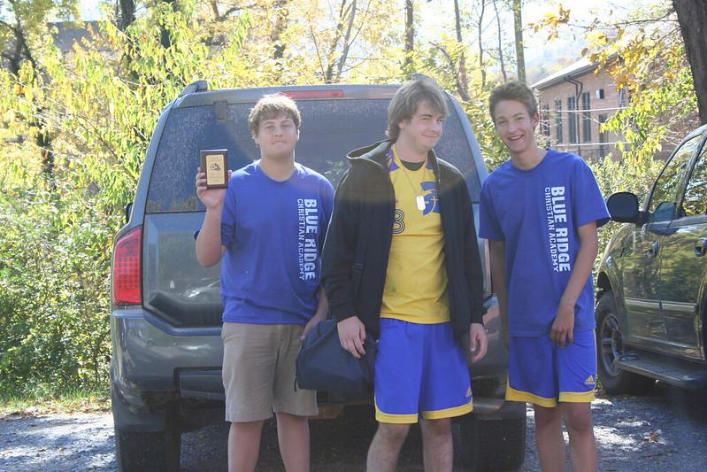 Mason Bird and his brothers