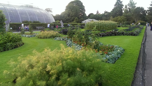 Kew Gardens, vegetable gardens
