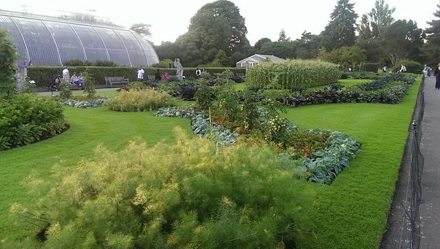 Kew Gardens, vegetable gardens