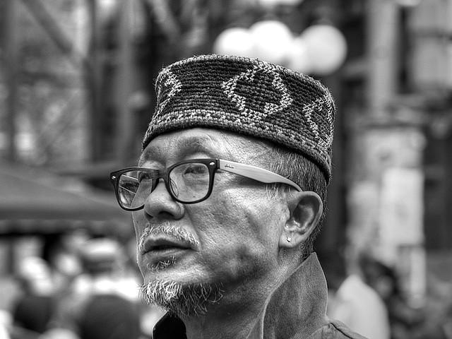 street portrait: BW