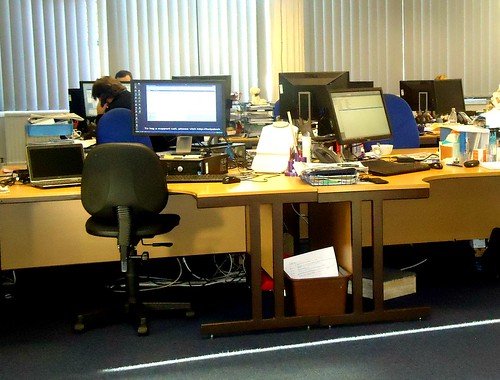 Newsroom at The Halifax Courier