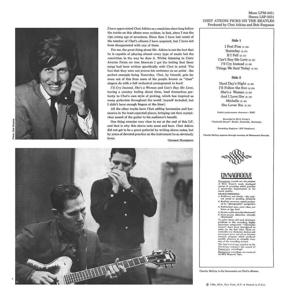 Chet Atkins Picks on the Beatles