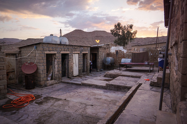 Courtyard in Naftsefid
