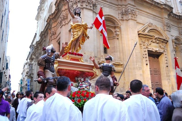 Easter procession | Exploring Valletta, Malta | No Apathy Allowed
