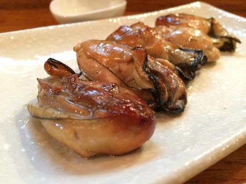 薫製牡蠣@牡蠣バル 大山