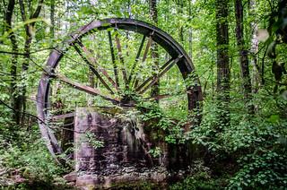 Gilreath Mill Water Wheel
