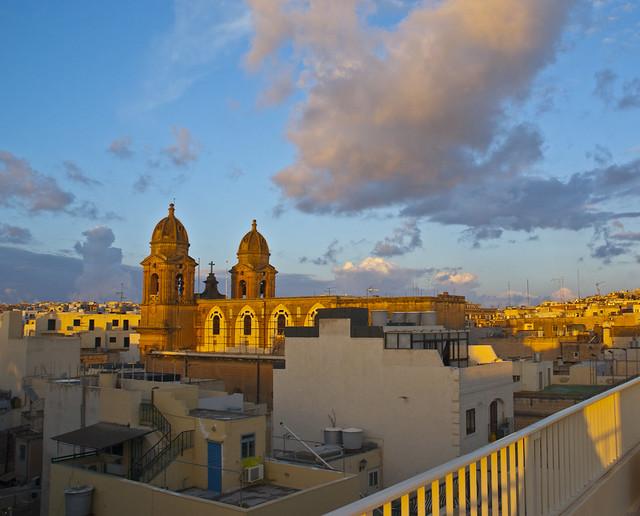 Malta: Sliema sunrise