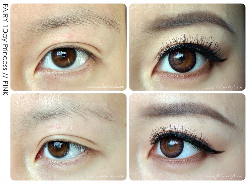 FAIRY 1Day Circle Lenses PINK
