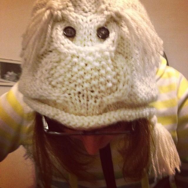 Gufo in arrivo! #instaknit #yarn #lavoroamaglia #fattoamano #handmade #ravelry #knitting #knit