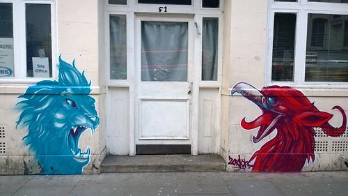 London street art tour