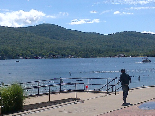 Saturday morning in Lake George