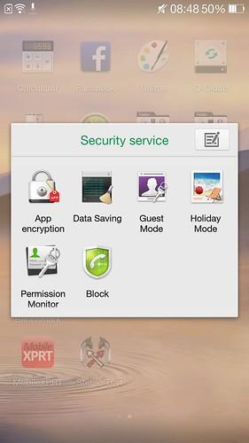 พวก App เกี่ยวกับ Security ของ Oppo Find 7a