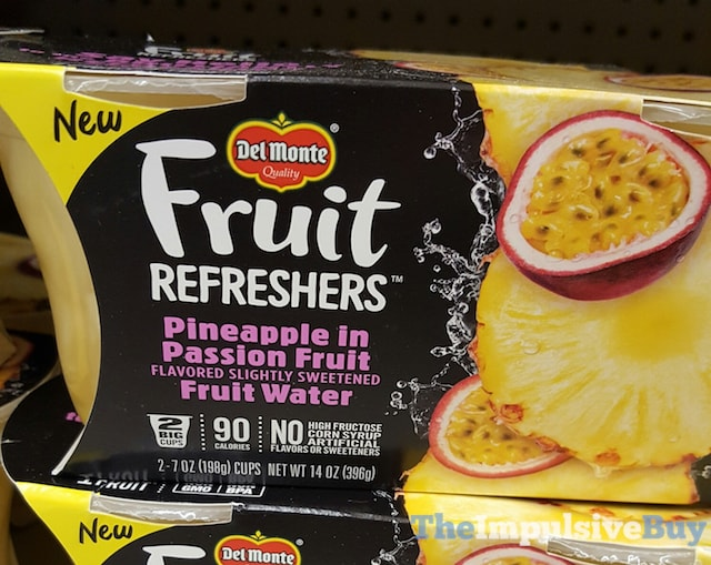 Del Monte Fruit Refreshers Pineapple in Passion Fruit Fruit Water