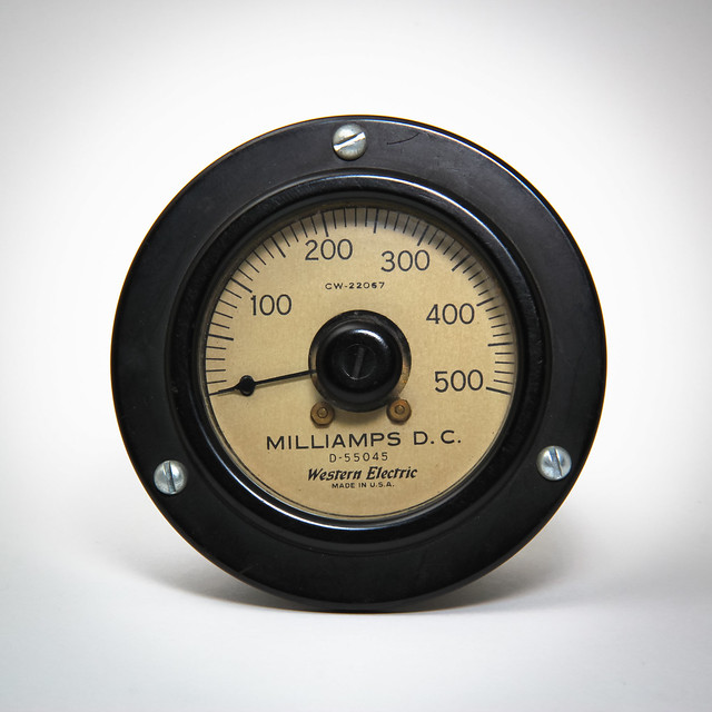 Western Electric 500ma Ammeter