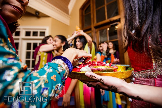 Mehndi night ceremony