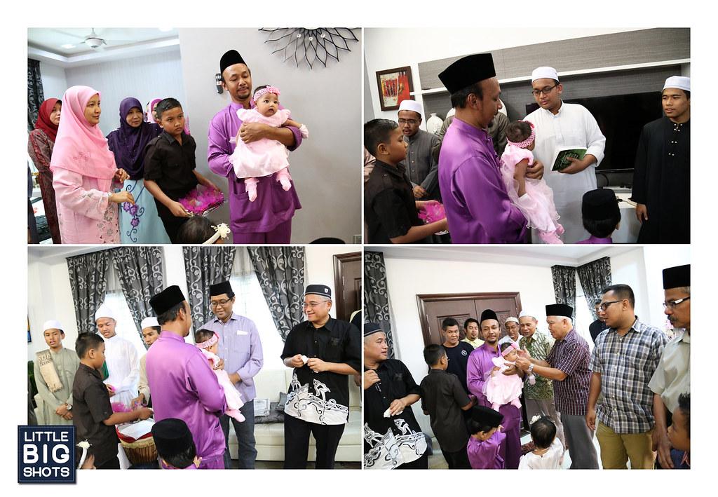Majlis Aqiqah & Kesyukuran Nur Aisyah Syafiqah