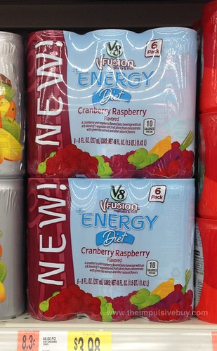 V8 Fusion Energy Diet Cranberry Raspberry