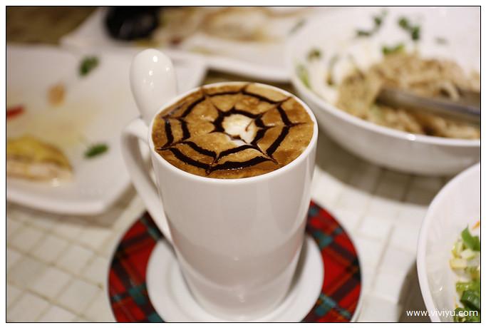 中壢,咖啡,滷味,牛肉麵,羊城食味坊,美食,老饕品味食堂,角落咖啡,鹽焗雞 @VIVIYU小世界