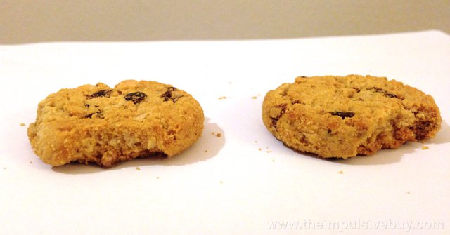 Rah-Rah Raisin Girl Scout Cookies are crumbly
