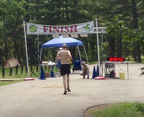 Rob finishing Berryman 50