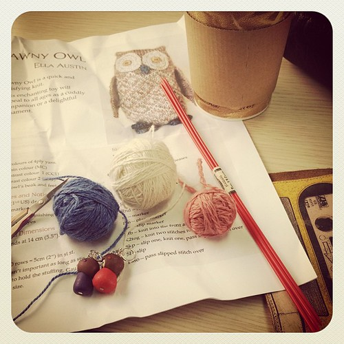 Train knitting for a certain little baby being born today :)
