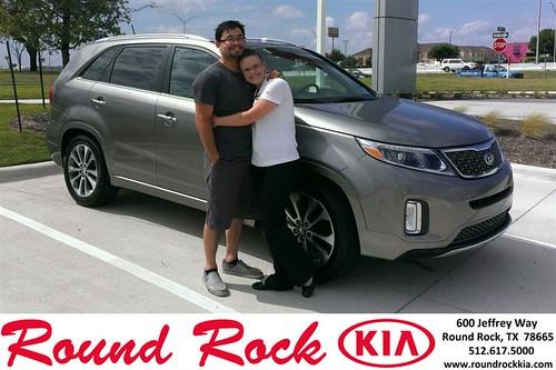 Thank you to Ruth & Steve on your new 2014 Kia Sorento from Ruth Largaespada and everyone at Round Rock Kia! by RoundRockKia