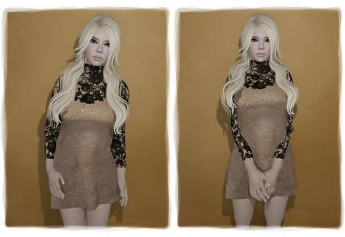 The Outlet - WERTINA - Regi Lace Dress by Tigist Sapphire