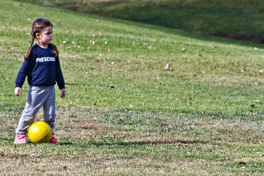 thrilled by soccer