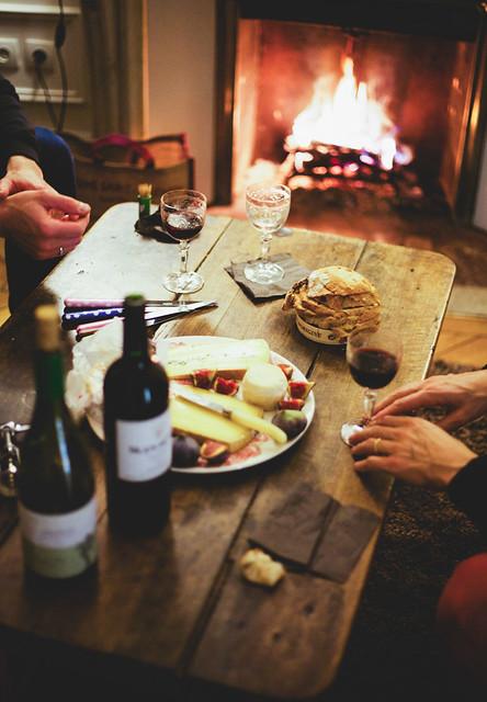 Food + Wine + Friends