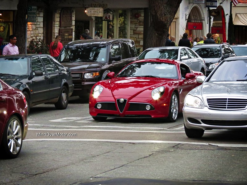 Alfa Romeo 8C Competizione spotted in Carmel, CA