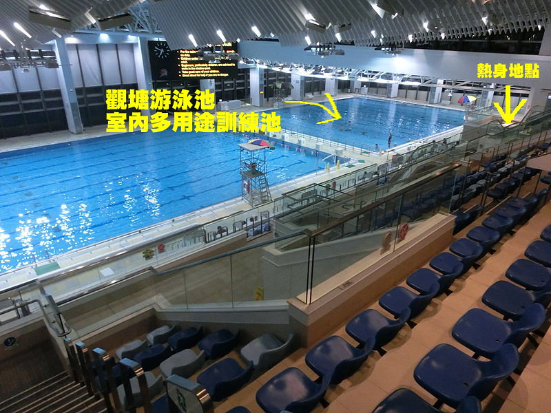 觀塘游泳池室內多用途訓練池
