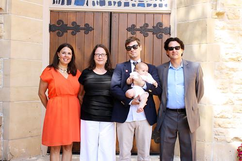 with vincent's godparents