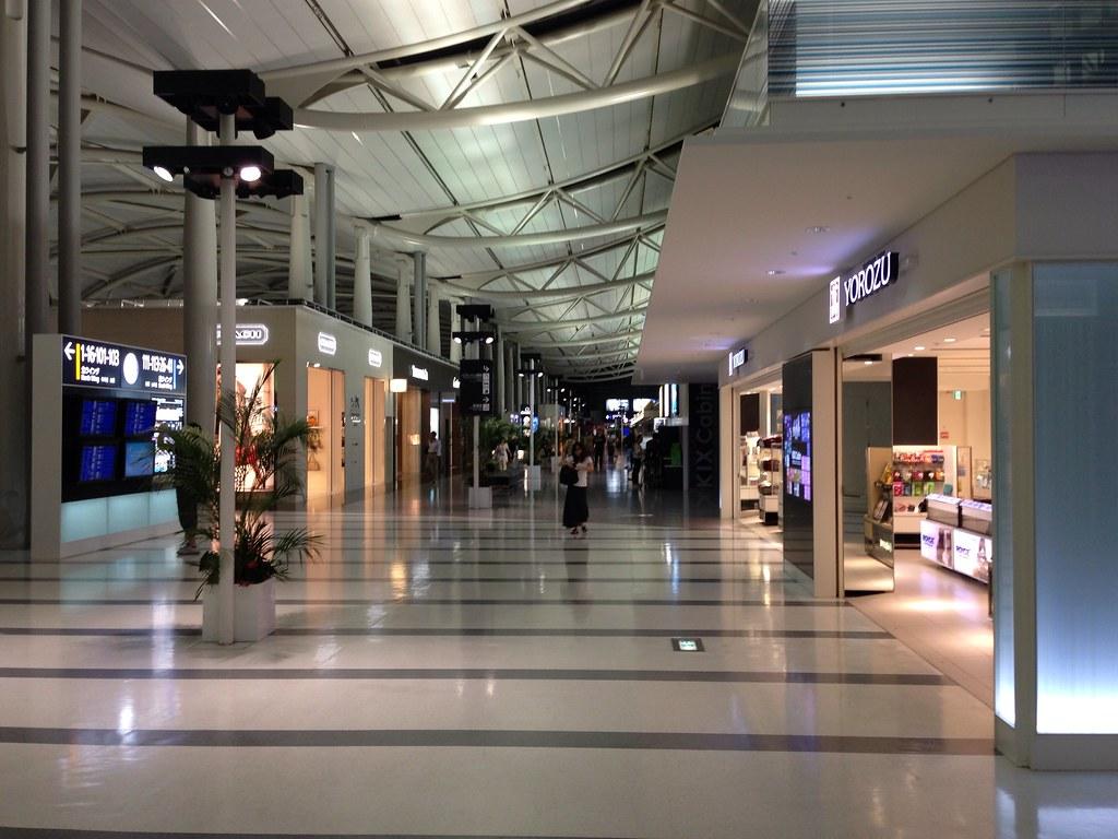 Night Time at Kansai International Airport