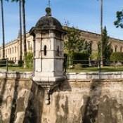 - Former tobacco factory that is now an incredible university building  - Universidad de Sevilla