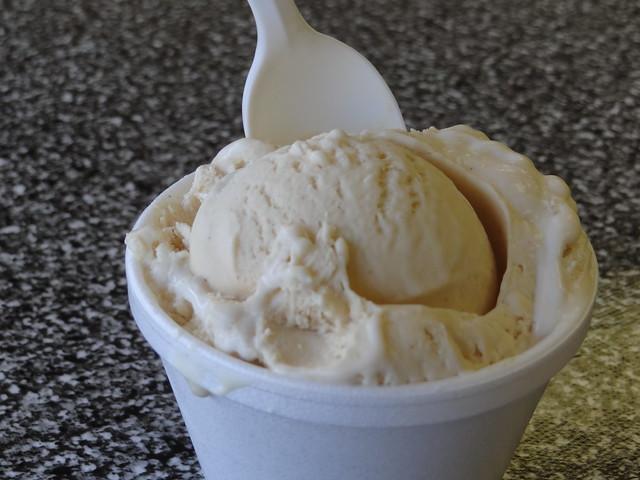 Fluffternutter ice cream